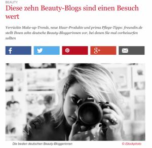 10 besten Beauty-Bloggerinnen | Freundin.de