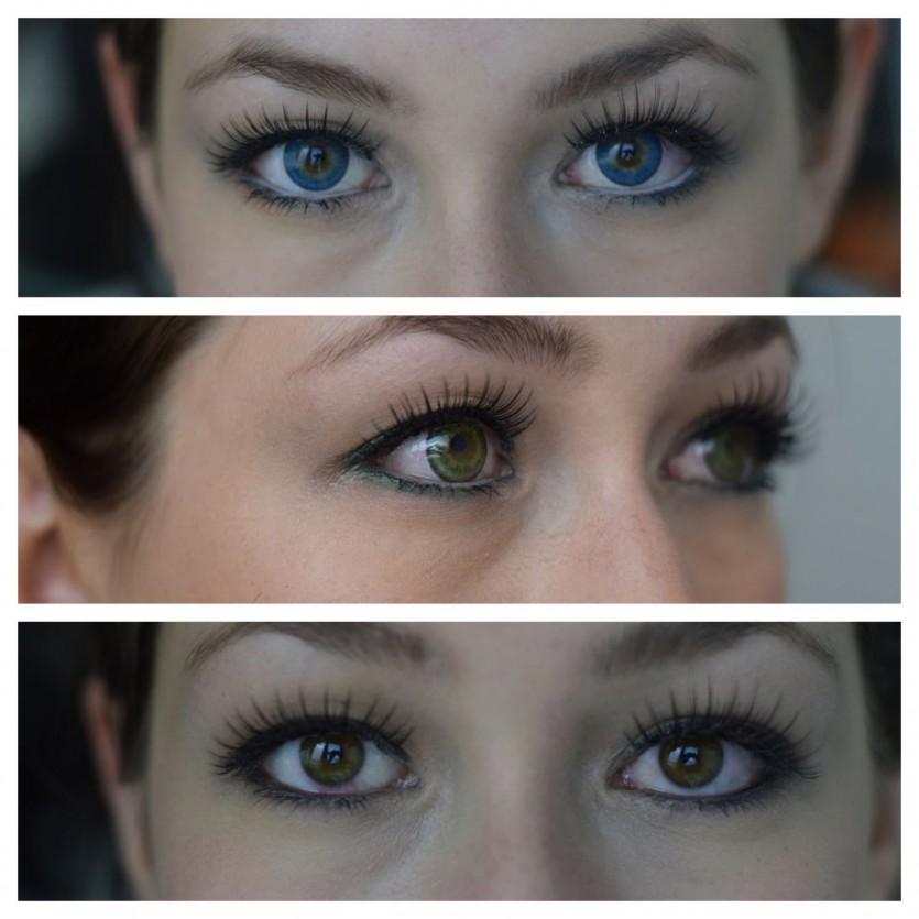 Farben die deine Augenfarbe strahlen lassen