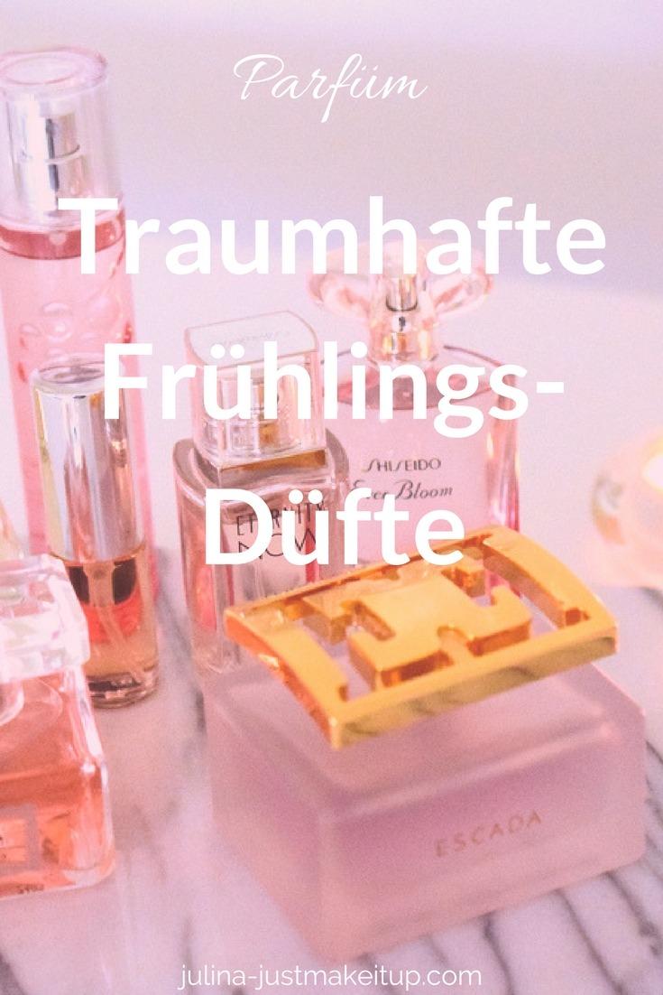 Traumhafte Frühlingsdüfte Parfüm Empfehlung