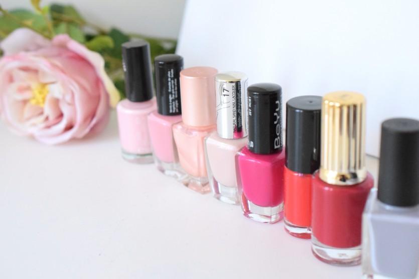 Sommerfarben für die Nägel