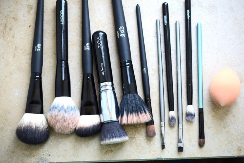 Wie du deine Makeup-Pinsel in 5 Minuten reinigst