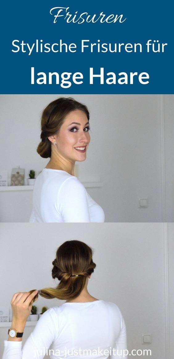 Stylische Frisuren für lange Haare Beautyblog München