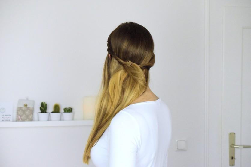 Stylische Frisuren zum Selbermachen lange haare mittellange haare