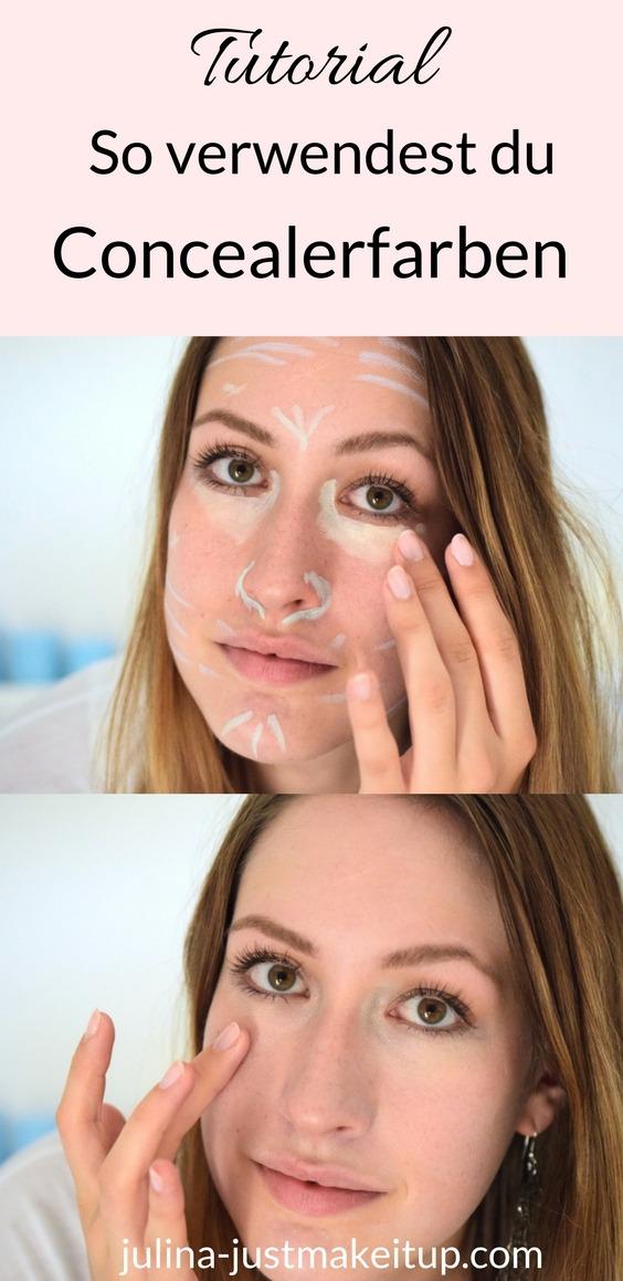 Concealer auftragen Concealer Farben Pickel abdecken Augenringe abdecken