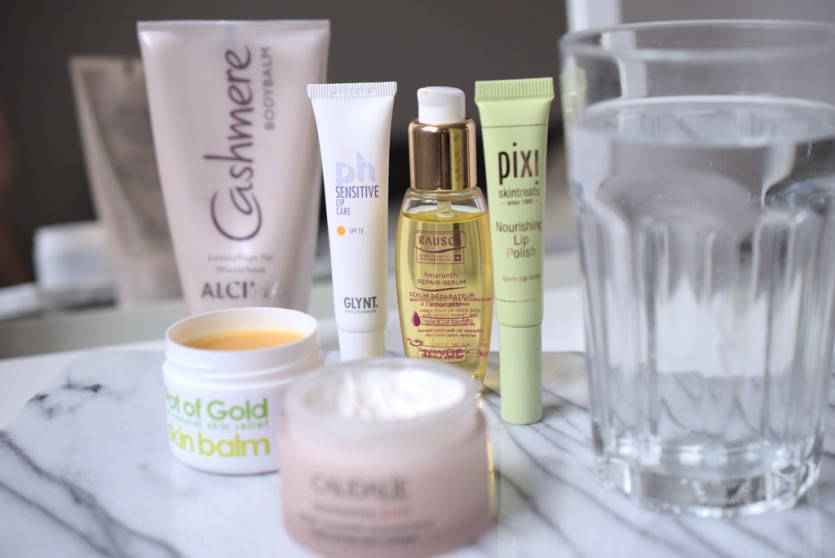 Die besten Beautyprodukte gegen trockene Heizungsluft
