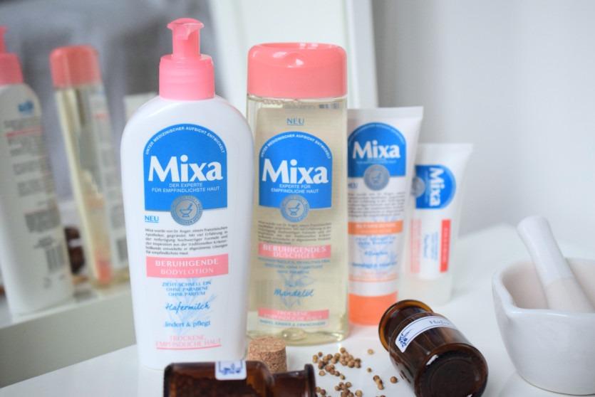 Hautberuhigende Produkte aus der Drogerie: Mixa (NEU)