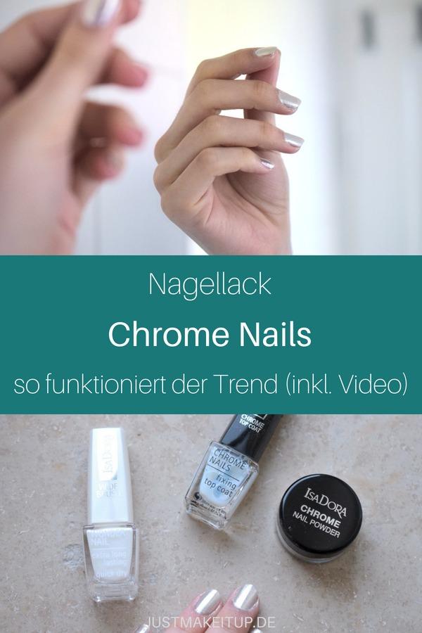 Chrome Nails: So zauberst du den Trend auf deine Nägel