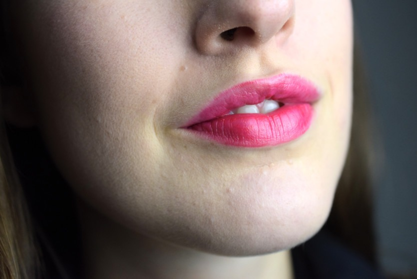 All time favorite: Pinke Lippen und Rosa Lidschatten
