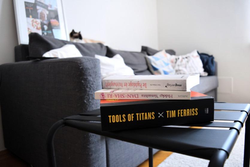 Bücher, die ich gerade Lese: Lifestyle-Bücher für Dich