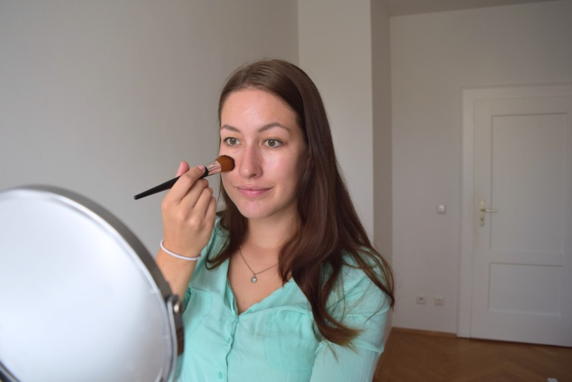 Camouflage Make up Tutorial mit Malu Wilz
