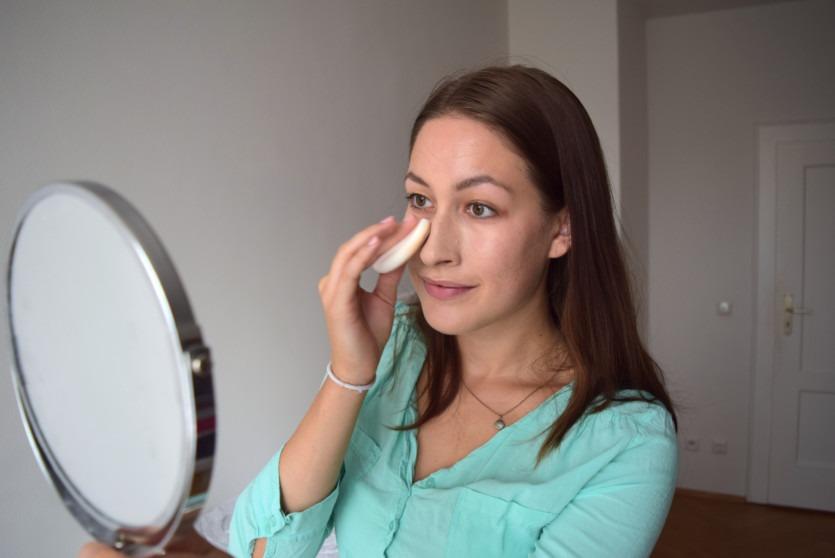 Malu Wilz Camouflage Makeup auftragen
