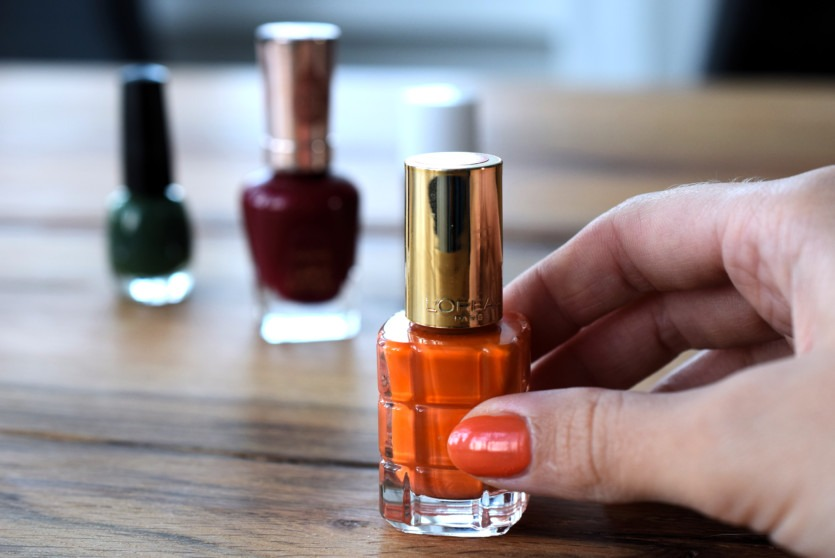 Nagellacktrends Herbst 2018 Orange